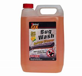 TRIPLE QX Ready Mixed Bug Wash Screenwash (5Ltr)
